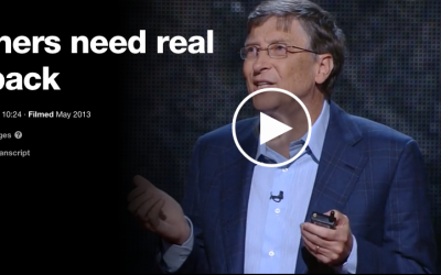 Bill Gates on the Importance of Feedback