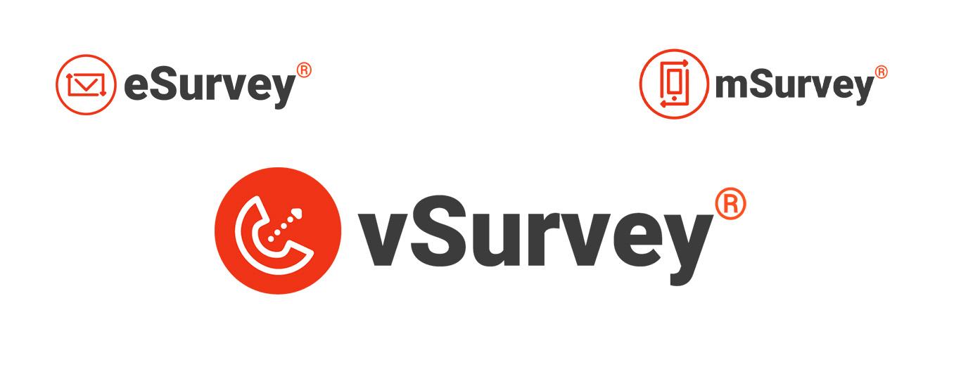 All 3 VirtuaTell survey logos